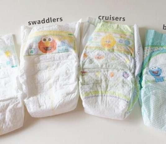 pampers纸尿裤对比