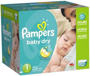 Pampers baby dry纸尿裤