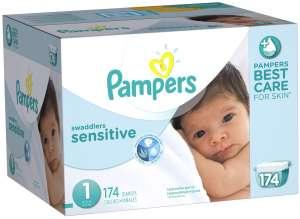 Pampers sensitive纸尿裤