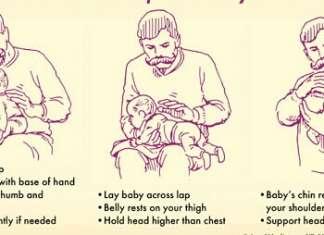 新生儿拍嗝