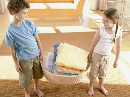 美国妈妈如何训练孩子做家务
