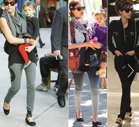 美国妈妈平底鞋