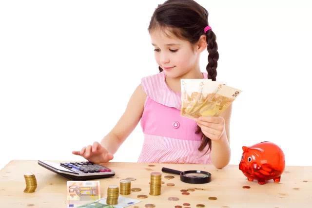 美国妈妈给孩子零花钱