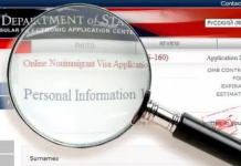 父母美国签证