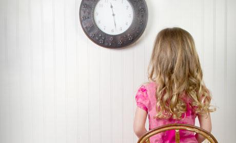 美国妈妈如何对孩子进行Time Out