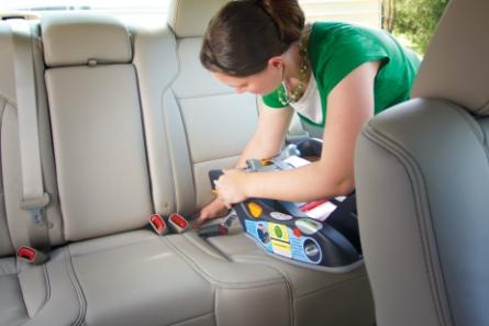儿童安全座椅安装方法