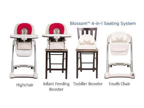Graco Blossom 4 in 1儿童餐椅怎么样