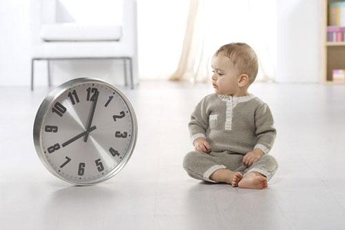 美国父母如何培养宝宝的时间观念