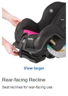 Evenflo儿童安全座椅怎么样