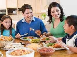 美国家庭餐桌礼仪教育
