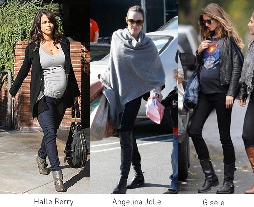 美国明星孕妇时尚穿搭