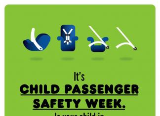美国CDC儿童乘车安全指南