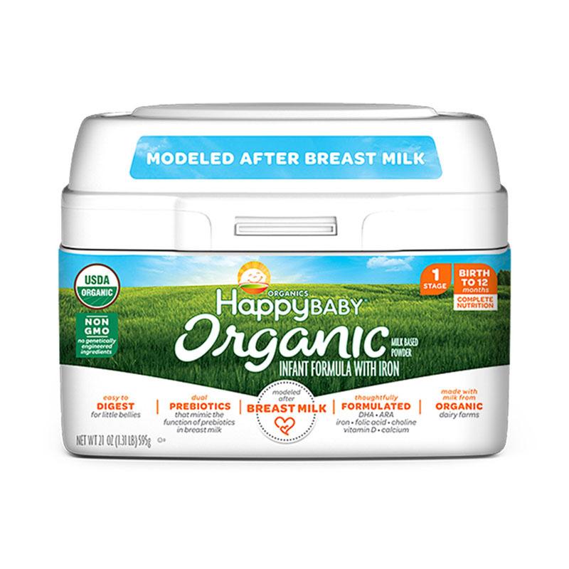 HappyBaby有机奶粉