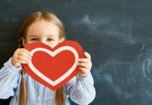 美国幼儿园孩子过情人节