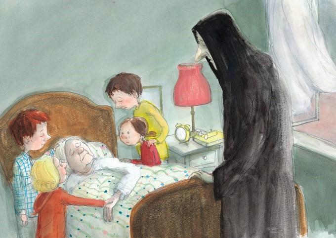跟孩子谈死亡话题