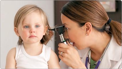 宝宝中耳炎感染