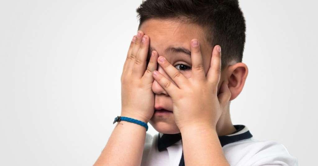 孩子为什么会胆小