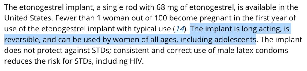 美国皮下埋植避孕法