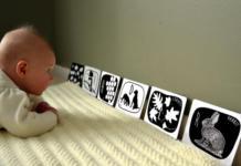 美国宝宝黑白卡