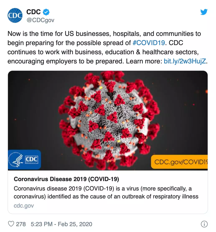 coronavirus spread in America