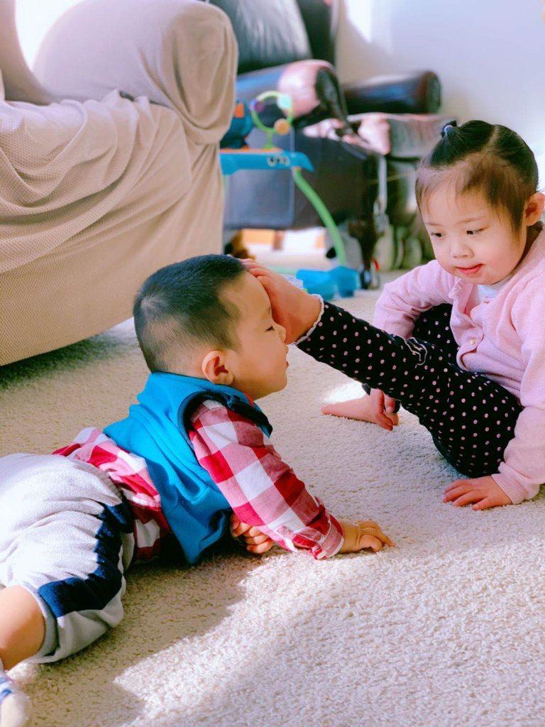 唐氏综合征宝宝故事分享