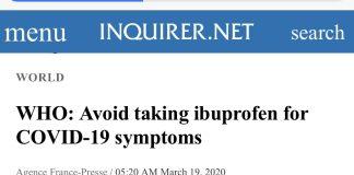 退烧药用药警告
