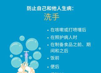 洗手预防病毒
