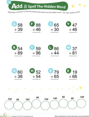 美国宝宝Worksheets资源