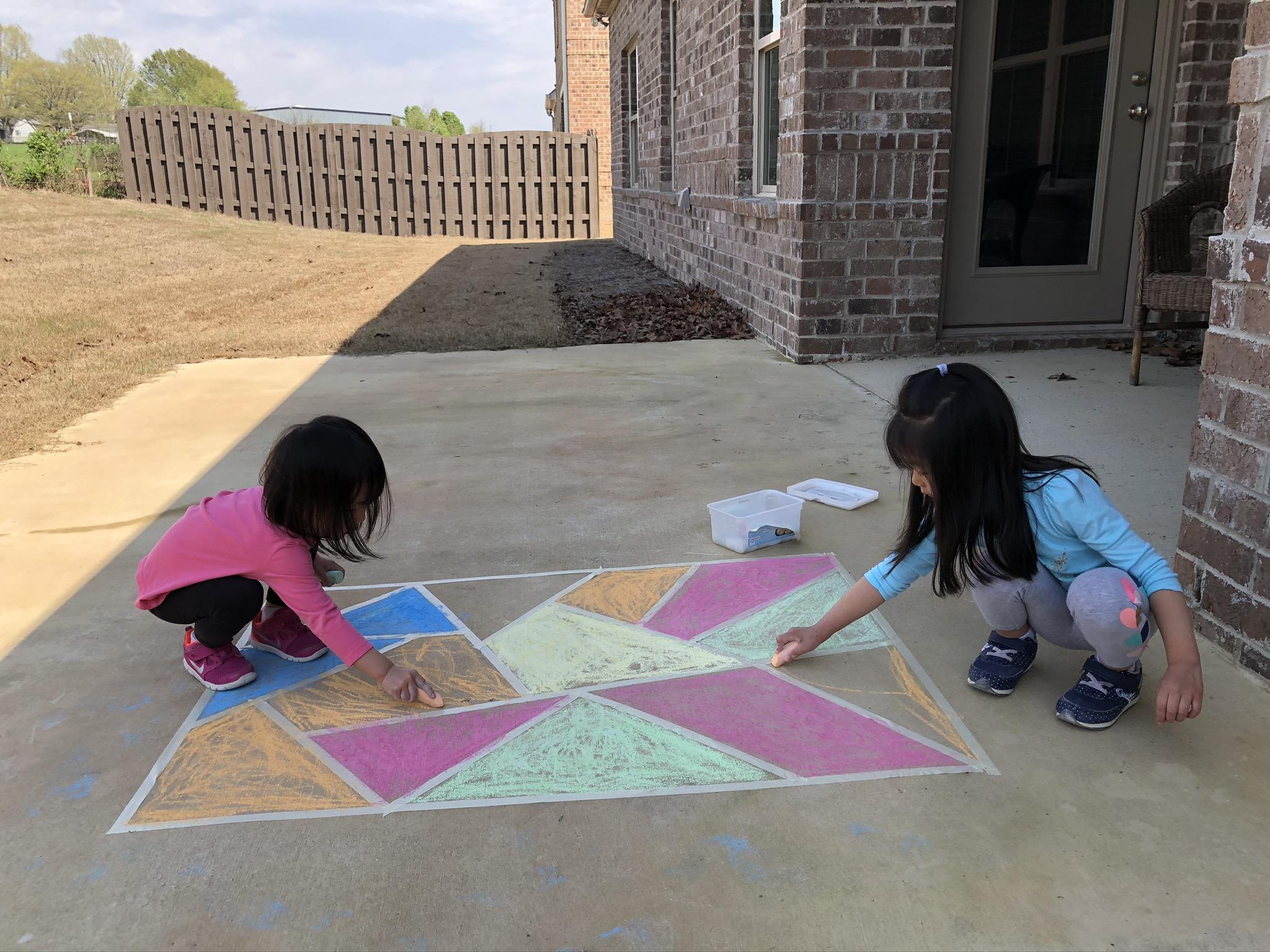美国儿童户外活动
