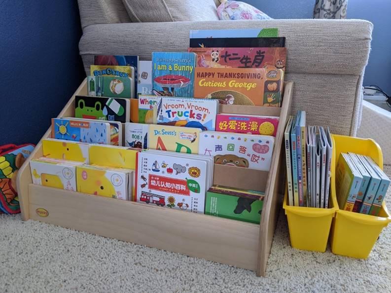 低幼龄儿童读书经验