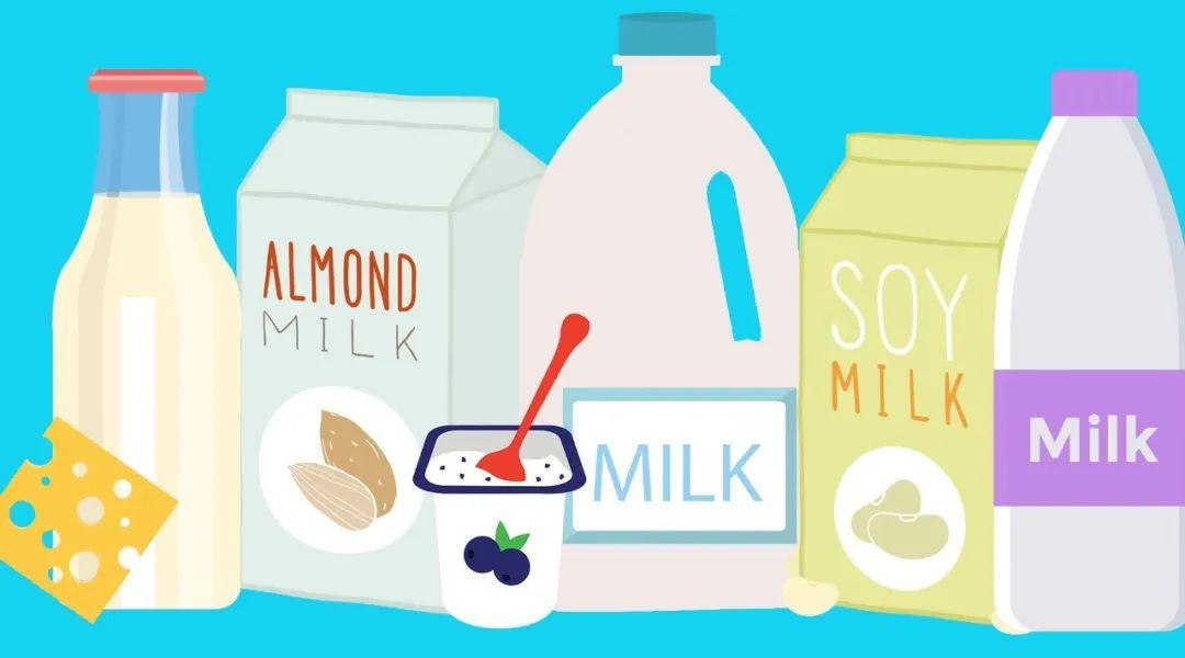 美国宝宝喝牛奶