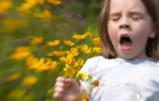 美国宝宝花粉过敏