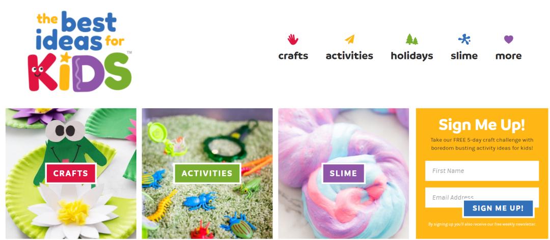 儿童手工网站
