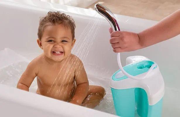 美国宝宝洗澡