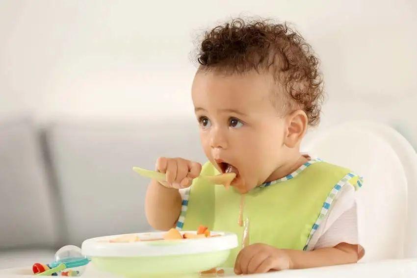 美国宝宝自主进食训练