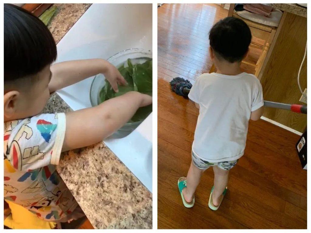 如何让宝宝参与家务