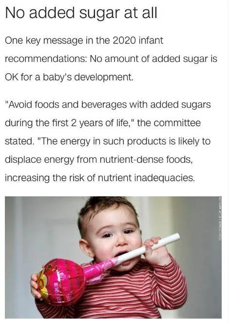 美国宝宝无糖辅食