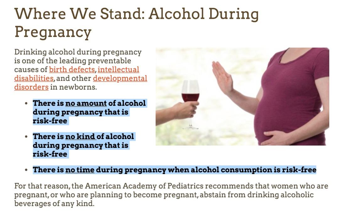 美国孕期饮酒研究