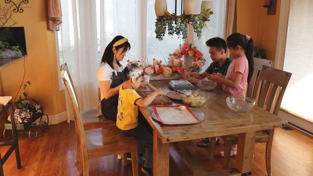 美国中秋亲子家庭大餐